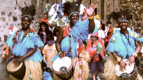 Ghanaian drumming, dance and storytelling