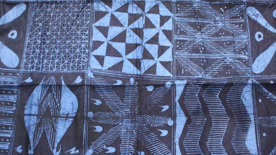 'Adire' textiles of Nigeria - illustrated talk