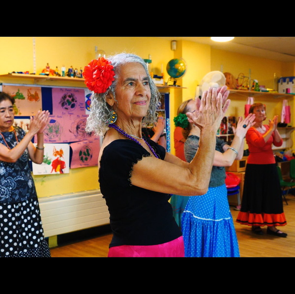Latin American Tea Dance with Elsa Perez