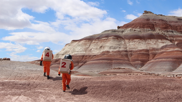 Building A Martian House