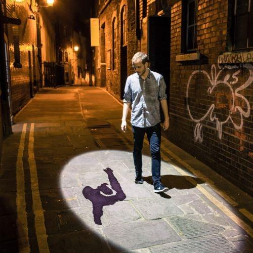 Shadowing - street scene