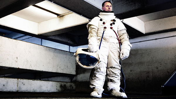 DJ Food's Future Shock - astronaut