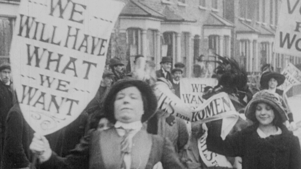 Suffragettes in Silent Comedy