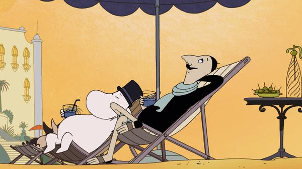 Moomins on the Riviera