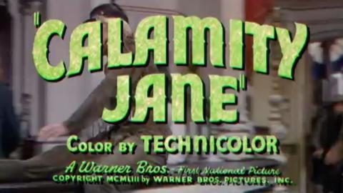 Calamity Jane (singalong)